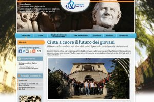 <strong>Sito Web - Liceo Salesiano Valsalice 2012<span><b>in</b>Portfolio </span></strong><i>→</i>